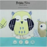 Bubba Blue Baby Owl Blue Cot Comforter