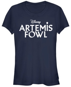 Fifth Sun Women's Artemis Fowl Flat Logo Short Sleeve T-shirt