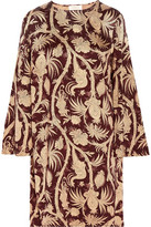 Zimmermann Karmic Printed Satin Dress