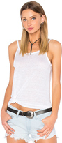 Chaser Scoop Back Flounce Tank