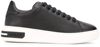 Bally Lace-Up Leather Trainers
