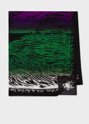 'Chile' Print Lightweight Scarf