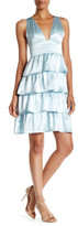 Cynthia Rowley Silk Ruffle Dress