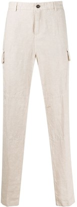 Eleventy Straight-Leg Side Pocket Trousers
