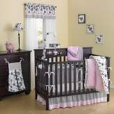 Minky New Country Home Laugh, Giggle & Smile Versailles Pink Plush 10-Piece Crib Bedding Set