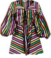 Caroline Constas Olympia Striped Dress