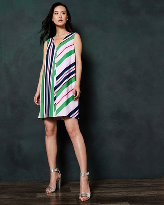 Ted Baker Bay Of Honor Cut Out Tunic Dress