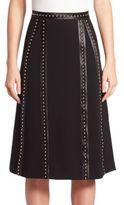 Altuzarra Steele Studded A-Line Skirt