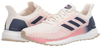 adidas Solar Boost 19 (Chalk White/Tech Indigo/Glory Pink) Women's Shoes