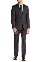 Ike Behar Solid Wool Suit