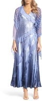 Komarov Women's Maxi Dress & Shawl