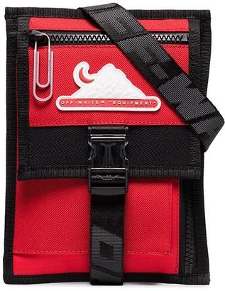 Off-White Multi-Pocket Cross Body Bag