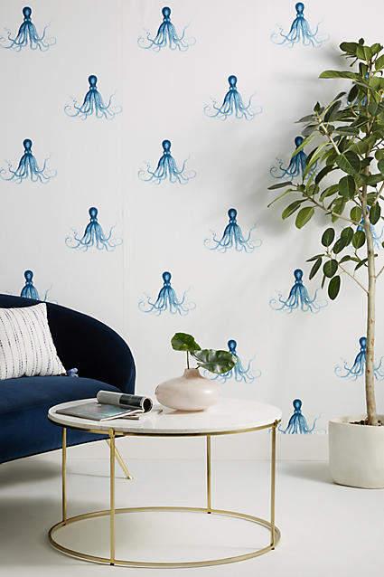 Anthropologie Octopus Wallpaper