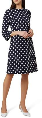 Hobbs Spot Print Magnolia Dress