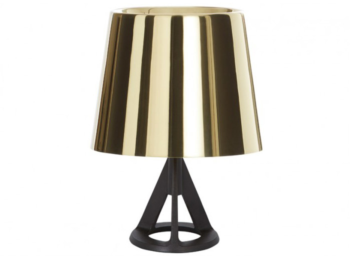 Tom Dixon Base Polished Brass Table Lamp