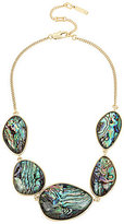 Kenneth Cole New York Abalone Frontal Necklace