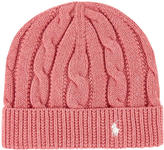 Ralph Lauren Cable stitch knit hat