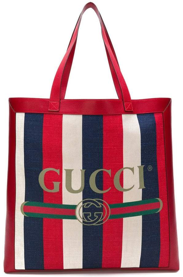 Gucci printed tote