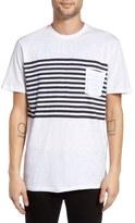 Barney Cools B Original Stripe Pocket T-Shirt