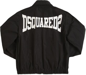 DSQUARED2 Padded Nylon Bomber Jacket
