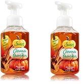 Bath & Body Works Gentle Foaming Hand Soap Sweet Cinnamon Pumpkin (2-Pack)