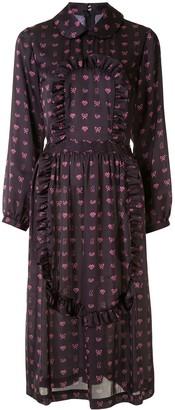 COMME DES GARÇONS GIRL Bow Print Dress