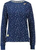 Ragwear CUDDLE DOTS ORGANIC Sweatshirt indigo