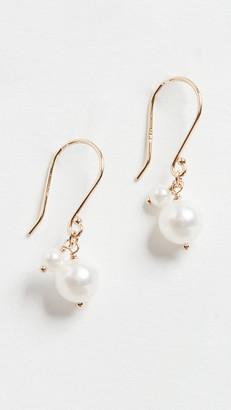 Mizuki Akoya Pearl Dangle Earrings