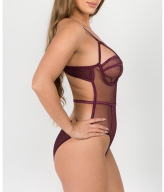 Just Sexy Lingerie Just Sexy Women's Lingerie Mesh Bodysuit