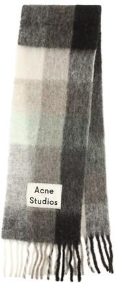 Acne Studios Alpaca, wool and mohair scarf