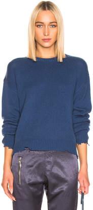 RtA Emma Sweater in Cerulean Blue   FWRD