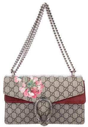 Gucci GG Supreme Blooms Small Dionysus Shoulder Bag