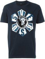 Versus roulette lion head T-shirt