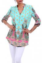 1 Style Multi Color Tunic
