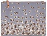Banana Republic Floral Medium Zip Pouch