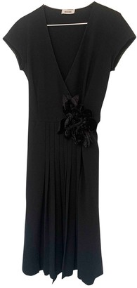 Moschino Black Silk Dresses