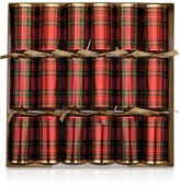 Caspari Plaid Crackers
