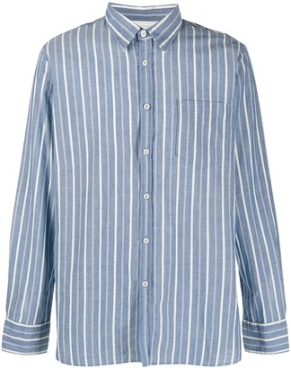 Universal Works Striped Print Shirt