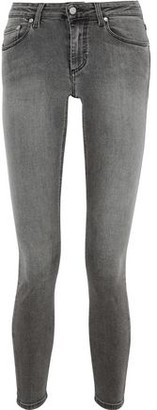 Acne Studios Faded Mid-rise Skinny Jeans