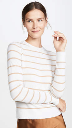 Vince Striped Cashmere Sweater