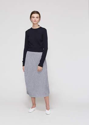Jil Sander Long Sleeve Cropped Sweater