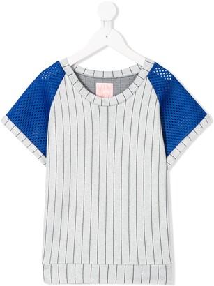 Wauw Capow Carl mesh panel T-shirt