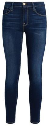 Frame Le Skinny De Jeanne Crop Jeans