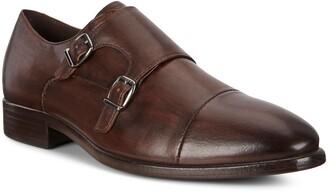 Ecco Vitrus Mondial Double Monk Strap Shoe