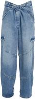 RtA Dallas High-Waist Relaxed Jeans