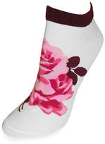 Kate Spade Knit Rose Socks