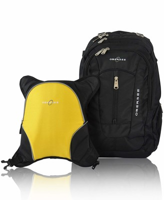 Obersee Baby Boys' O3BBPCA029 Bern Diaper Backpack Shoulder Bag with Food Cooler