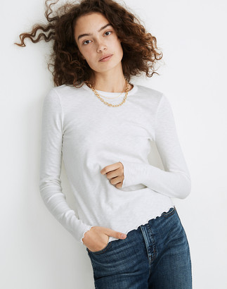 Madewell Long-Sleeve Baby Tee