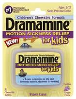 Bed Bath & Beyond Dramamine® Motion Sickness Relief for Kids 8-Count Chewable Tablets in Grape Flavor