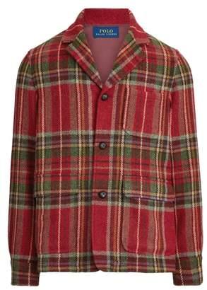 Ralph Lauren Tartan Wool Sport Coat